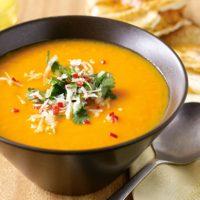 pumpkin-and-sweet-potato-soup-with-coriander-sambal-cumin-flatbread-70759-1