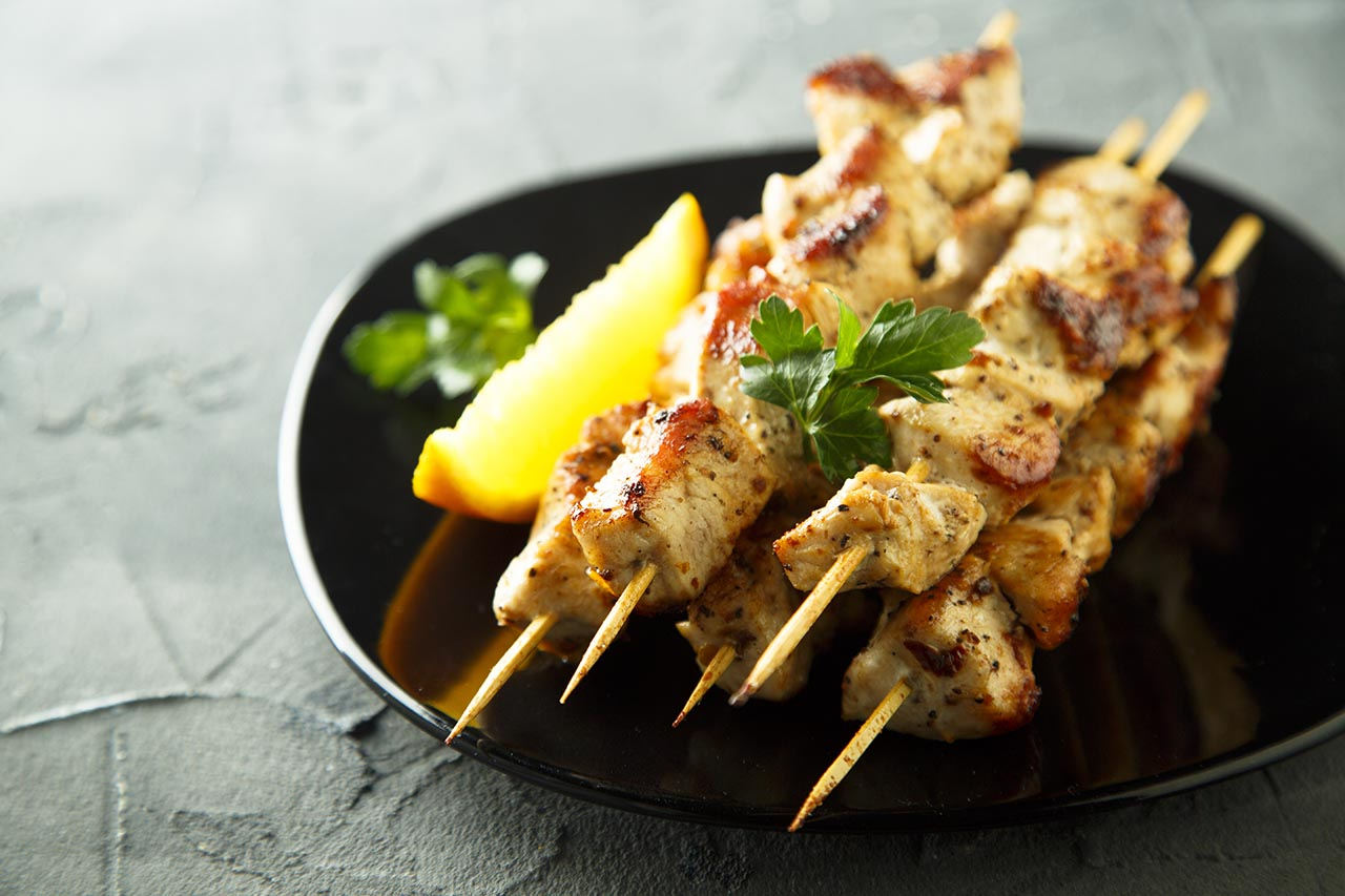 Parsley Chicken Skewers